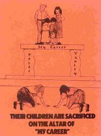 Pamphlet - Children Sacrificed by Career