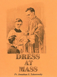 Pamphlet - Dress at Mass