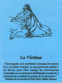 Pamphlet - La Victima