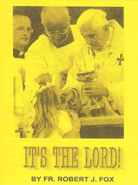 Pamphlet - It's The Lord