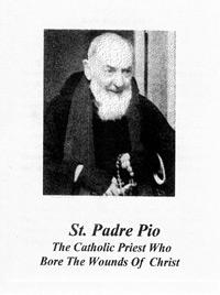 Pamphlet - Saint Padre Pio