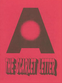 Pamphlet - The Scarlet Letter