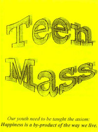Pamphlet - Teen Mass