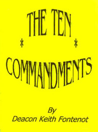 Pamphlet - The Ten Commandments