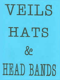 Pamphlet - Veils, Hats and Headbands